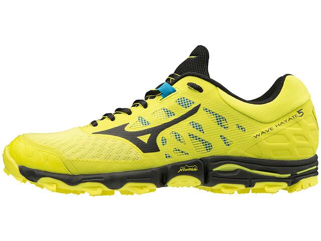 the best attitude 9d668 49d34 Mizuno Wave Hayate 5 - Chaussures running Homme - jaune